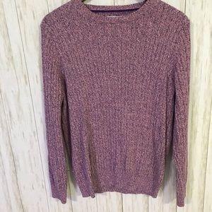 Kim Rogers 100% cotton multi-color sweater XL
